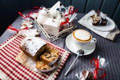 Состав рождественской открытки Стоковые Фото