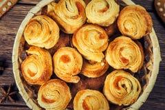 Состав свеже испеченного печенья Стоковые Изображения RF