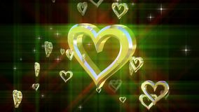 Состав с вращая сердцем сток-видео