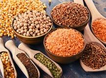 Состав с разнообразием вегетарианских пищевых ингредиентов стоковое изображение