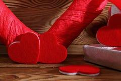 Состав с сердцем для всех любовников Стоковые Фото