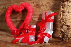 Состав с сердцем для всех любовников Стоковые Фотографии RF