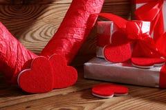 Состав с сердцем для всех любовников Стоковое Изображение RF