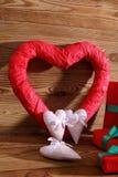 Состав с сердцем для всех любовников Стоковое Фото