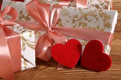 Состав с сердцем для всех любовников Стоковое фото RF