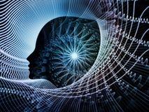Состав души и разума Стоковая Фотография RF