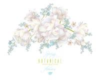 Состав цветка весны иллюстрация штока