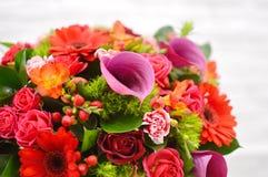 Состав цветка для салона цветков стоковая фотография rf