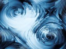 Состав цифров динамический Стоковое фото RF