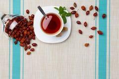 Состав чая с briar Стоковые Изображения