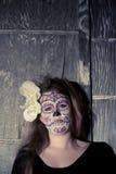 Состав черепа сахара Стоковая Фотография