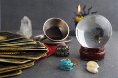 Состав эзотерических объектов, используемый для излечивать и удач-говорить стоковые изображения