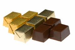 состав 9 шоколада конфет различный Стоковое Изображение