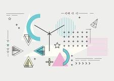 Состав AAbstract современный геометрический Стоковое Изображение RF