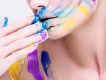 состав colorfull Стоковая Фотография