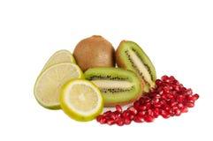 состав fruits тропическо стоковые фотографии rf