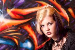состав hairdo девушки стоковое фото rf
