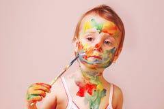 Состав ` s детей, фасонирует юмористическое изображение Стоковое фото RF