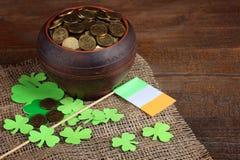 Состав St. Patrick стоковое изображение