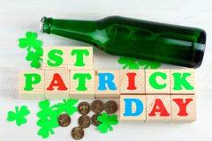 Состав St. Patrick стоковые изображения rf