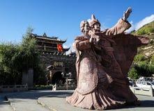 Состояние принцессы Wencheng (принцесса династии тяни) стоковые фото