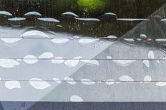 Состояние фильма фильтра автомобиля В конце пользы b Стоковая Фотография