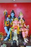 Состояние Ganesha семьи в виске Таиланда стоковое фото rf