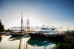Состыкованные корабли путешествия стоковое фото rf