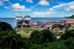 Состыкованные корабли стоковая фотография rf