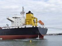 Состыкованный корабль топливозаправщика Стоковые Изображения