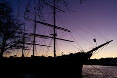 сосуд sailing Стоковые Изображения RF