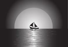 сосуд sailing Стоковые Фотографии RF
