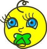 сосунок иллюстрации младенца стоковое изображение