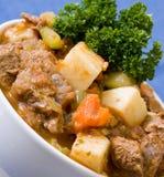Сотейник говядины и Veggie Стоковое Изображение RF