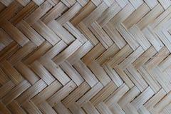 Соткать бамбука или соломы деревянная предпосылка текстуры корзины стоковая фотография