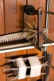 соткать оборудования стоковое изображение rf