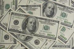 Сотниы долларов Стоковые Фотографии RF