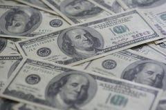 Сотниы долларов Стоковая Фотография