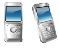 сотовые телефоны иллюстрация штока