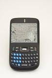 сотовый телефон злоупотреблением Стоковое фото RF