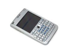 сотовый телефон серебристый Стоковые Фото