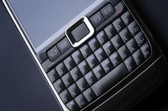 сотовый телефон франтовской стоковое фото rf