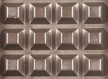 сотообразная текстура металла Стоковая Фотография