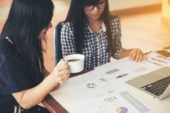 Сотрудничество единения сыгранности бизнес-леди красоты Стоковые Фотографии RF
