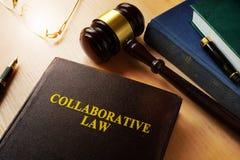 Сотруднический закон стоковые изображения rf