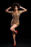 Сотрясенный с ее лихорадкой золота Стоковая Фотография RF