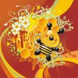 сот пчелы Стоковое Изображение RF