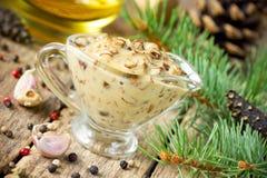 Соус гриба cream Стоковая Фотография