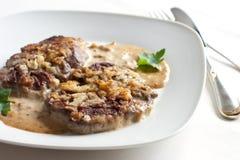соус зажаренный в духовке мясом Стоковое Фото