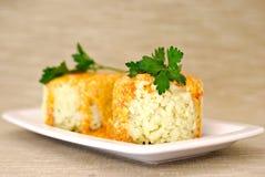 соус риса петрушки паприки цыпленка Стоковые Фото